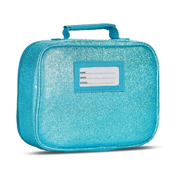 Sparkalicious Turquise Lunchbox  Bixbee